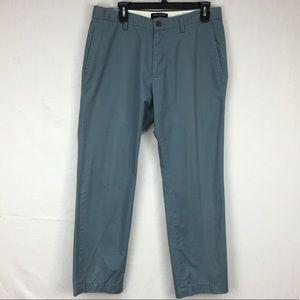 Banana Republic Slate Blue Emerson Chino Pants